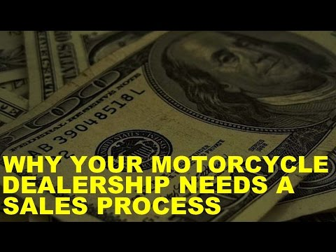 Why Powersports Dealerships Need a Sales Process
