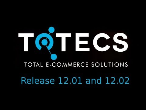 TOTECS Platform Release 12.01, 12.02 - Dynamic Product Attribute Searching - Invoice Freight Data