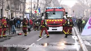 Pompiers de Paris  sur feu #stephaneparis#PompiersdeParis#PanasonicHCV800