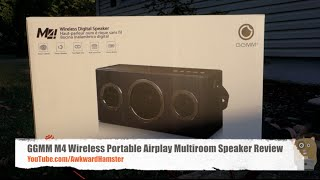 GGMM M4 Wireless Portable Airplay Multiroom Speaker Review