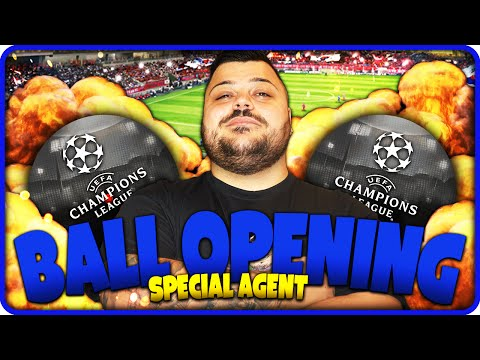 BALL OPENING PES 2016 : SPECIAL AGENT CHAMPIONS LEAGUE !