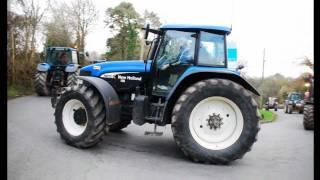 Ballyhale Tractor Run in memory of Martin Duggan and SeanMalone