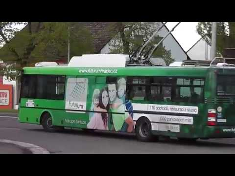 Trolejbus Škoda 30Tr Sor Ev.č 16 DPmHK