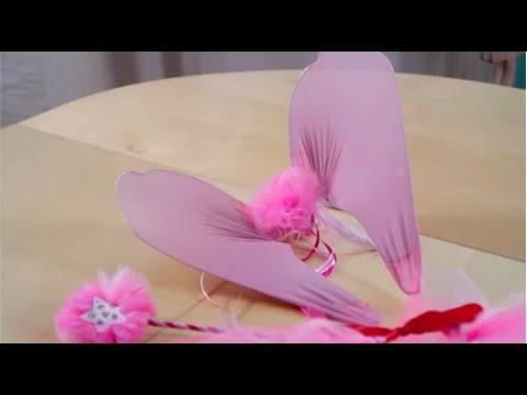 Diy faire des ailes de f e costume de f e youtube - Faire un tutu pour adulte ...