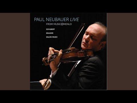 """Sonata for Viola and Piano in A Minor, D. 821 """"Arpeggione"""": I. Allegro moderato (Live)"""