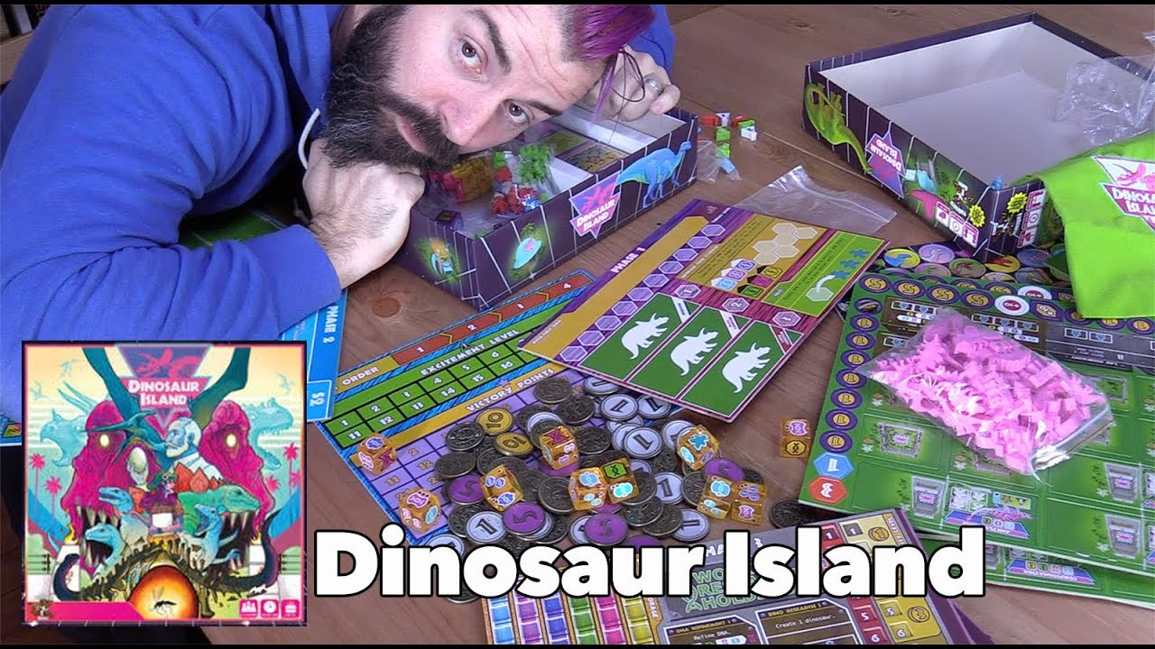 Dinosaur Island - Why all the fuss about the components ...