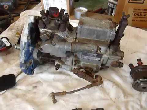 ambac 100 injector pump  stuck throttle shaft
