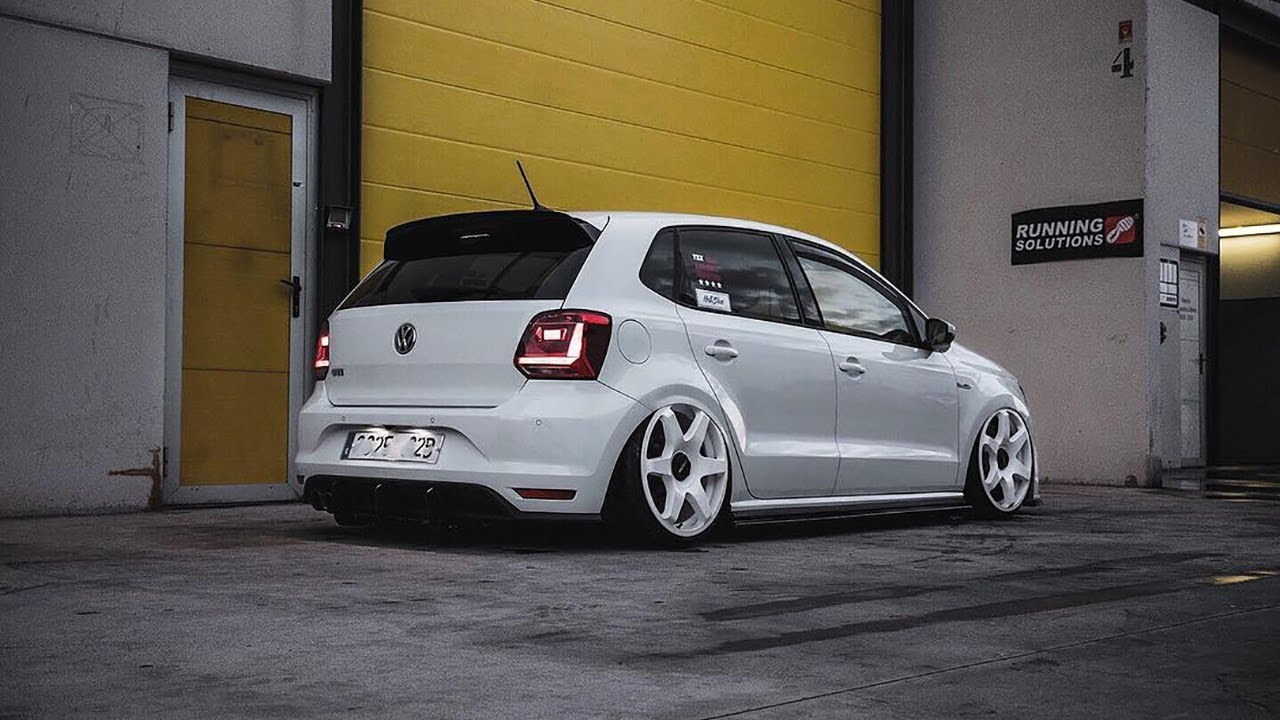 vw polo gti 6c bagged rotiform tuning project youtube. Black Bedroom Furniture Sets. Home Design Ideas