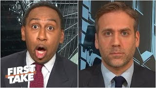 'You're lying through your teeth!' - Stephen A. calls out Max for his Tom Brady take | First Take