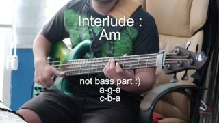 In Jesus Name (bass cover Vicky Arif Setiawan)