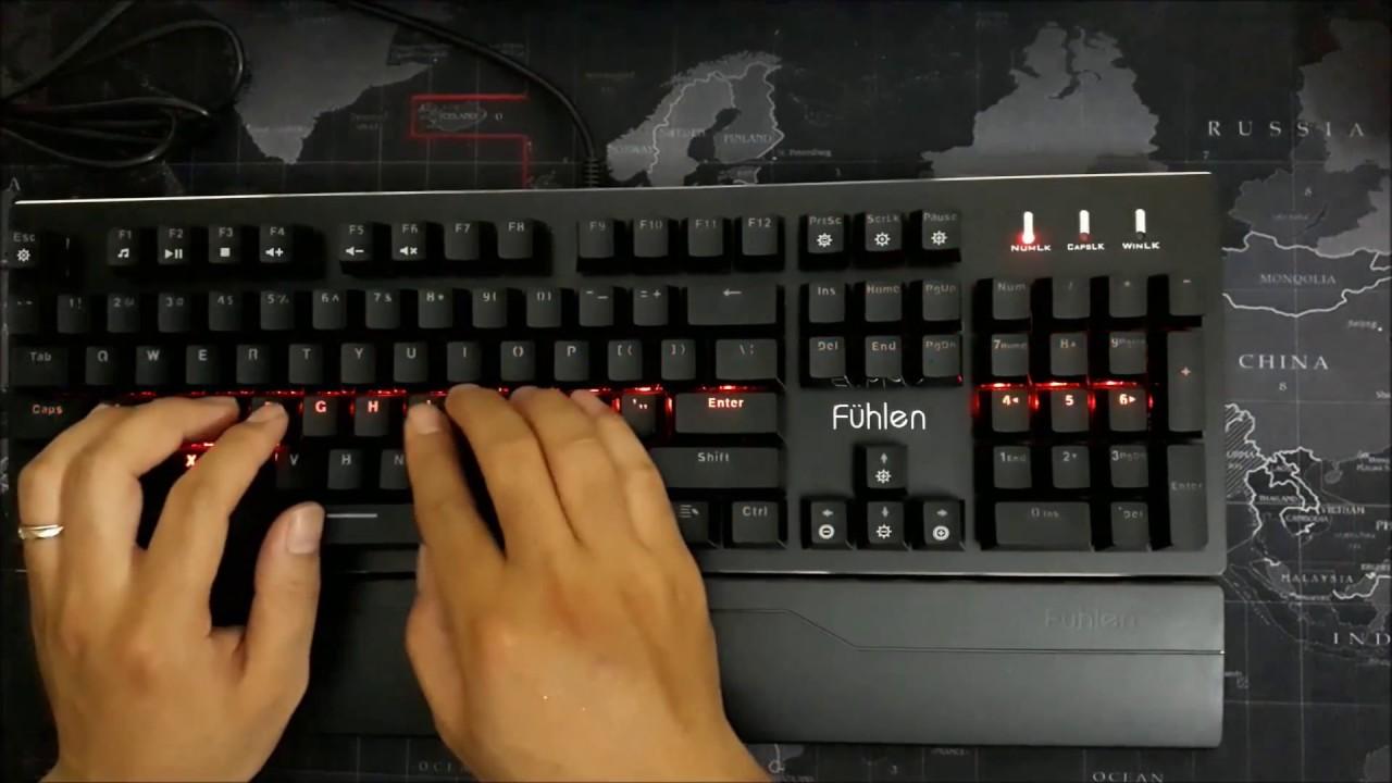 Review Siêu Bàn Phím Cơ Fuhlen Eraser Giá Sốc 850K Chuyên Game