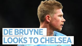 Kevin De Bruyne | 'Everybody wants to play' | Man City v Chelsea