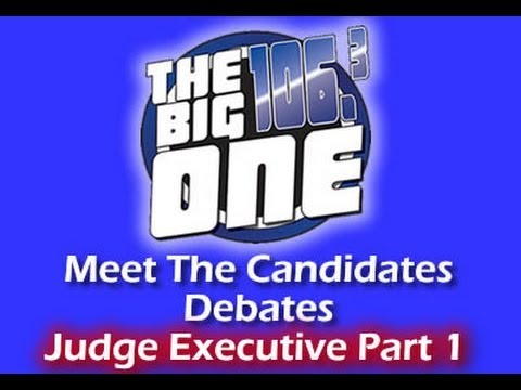Bell County, Ky Judge Exec Meet  The Candidates Debate Pt1