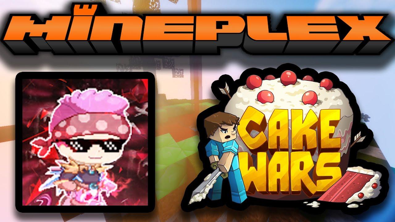 Minecraft - CakeWars Challenge!!! w/ TheFrozenZone [Mineplex Series]