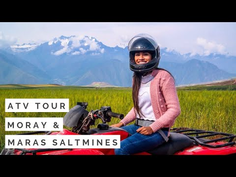 ATV Tour Cusco to Maras and Moray // What to do in Cusco // exploor