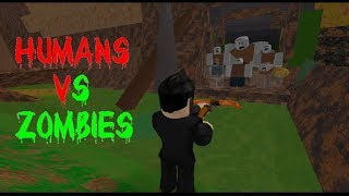 Roblox Humans vs Zombies NEW UPDATE. GAME RUINED?