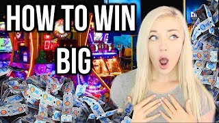 How To Win Big At Dave And Busters Arcade!