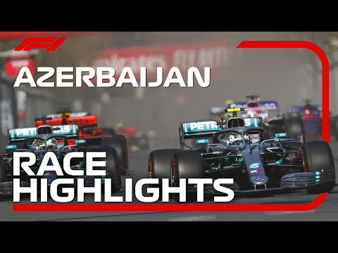2019 Azerbaijan Grand Prix: Race Highlights