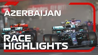 2019 Azerbaijan Grand Prix​: Race Highlights