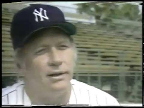 New York Yankee Highlights From Early 1950's Featuring Joe DiMaggio & Mickey Mantle - imasportsphile
