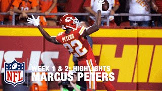Marcus Peters Highlights (Week 1 & 2) | Broncos vs. Chiefs | NFL