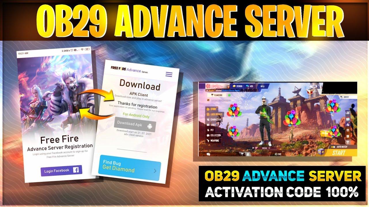 Download How To Register Ob29 Advance Server   Advance Server Free Fire Release Date   OB29 Advance Server