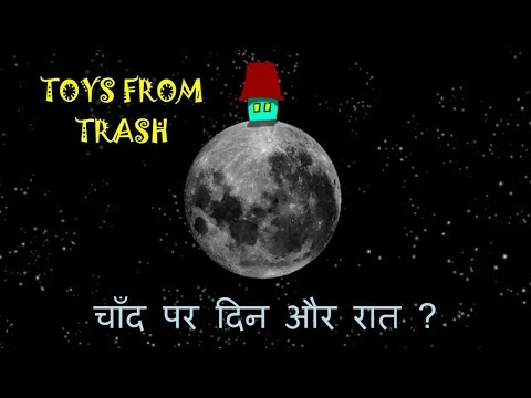 Days And Nights On Moon Hindi How And Why Youtube