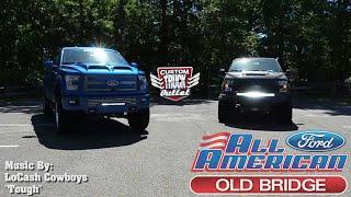 All American Ford & LoCash Know Custom Trucks!