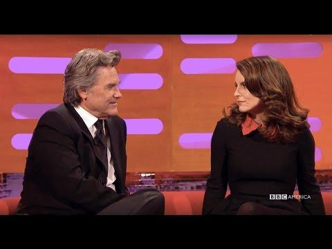 Tina Fey and Kurt Russell as Princess Leia and Han Solo - The Graham Norton Show