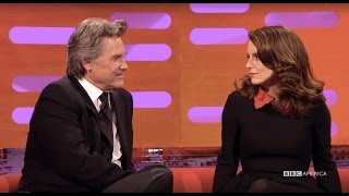 Tina Fey and Kurt Russell as Princess Leia and Han Solo - The Graham Norton Show