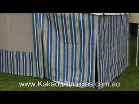 Kakadu Annexes Fitting An Extenda Room Youtube