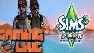 Gaming live PC - Les Sims 3 : Ile de Rêve Petit tour au paradis