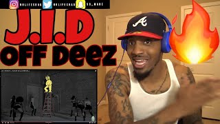 This is why J. Cole is my favorite rapper!!! | J.I.D - Off Deez ft. J. Cole | REACTION