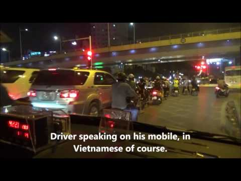 Taxi Ride Vietnam Hanoi Airport to JW Marriott Hanoi