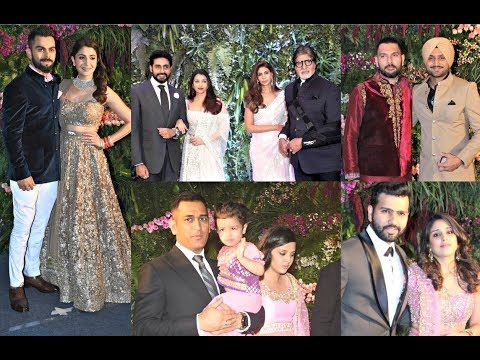 Anushka Sharma And Virat Kohli Mumbai Reception FULL VIDEO