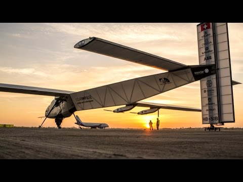 The First Solar Plane Flying Around the World