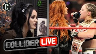 WWE's Paige Thinks Becky Lynch vs Ronda Rousey Should Be a Triple Threat Match