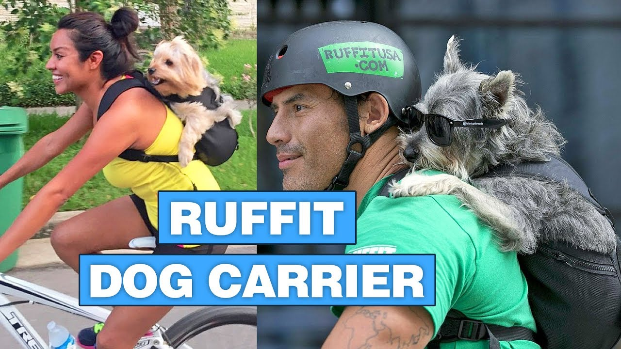 Ruffit Dog Carrier Backpack You