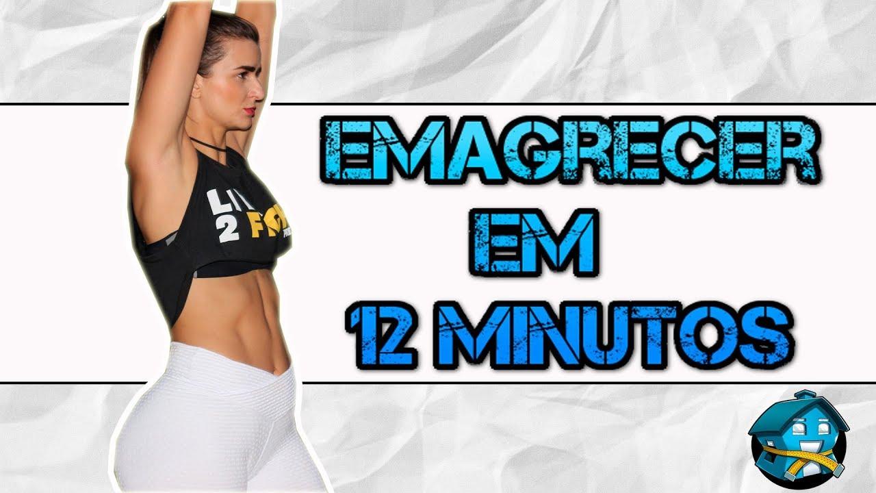 b401b02c2 Treino HIIT de 12 minutos para emagrecer - Exercícios em Casa - YouTube