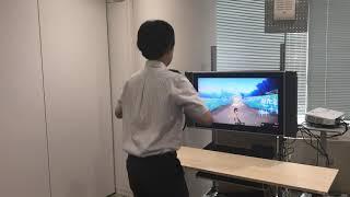 Nintendo Switch「リングフィット アドベンチャー 」体験動画(1)