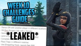 Season 6, Week 10 | Fortnite Week 10 Challenges Easy Guide (Week 10 Battle Pass) - Fortnite