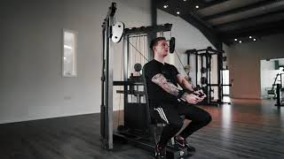Watson Gym Equipment - NEW Seated Dual Cables