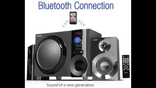 Boytone BT 210FB Wireless Bluetooth Stereo Audio Speaker with Powerful Sound, Bass System, Excellent