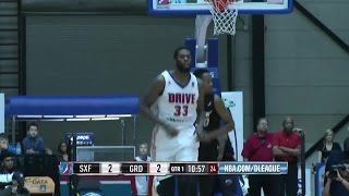 Willie Reed posts 21 points & 14 rebounds vs. the Skyforce, 1/3/2015