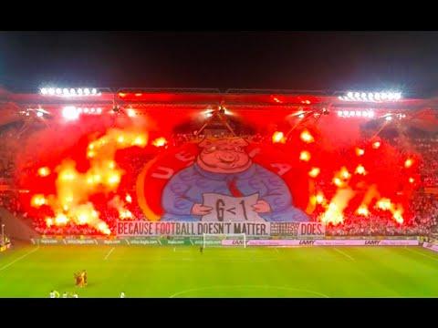 Legia Warszawa 'F*** UEFA' display, #UEFAmafia