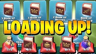 LOADING UP ON MAGIC ITEMS THROUGH THE SHOP! - Let's Play TH9 - Clash of Clans