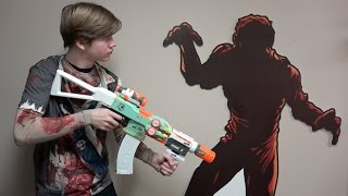 Best Nerf Guns For A Zombie Apocalypse!!