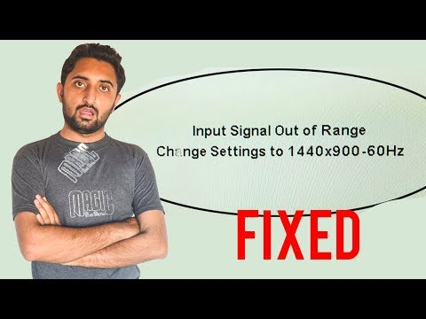 How To Fix Input Signal Out Of Range 100%