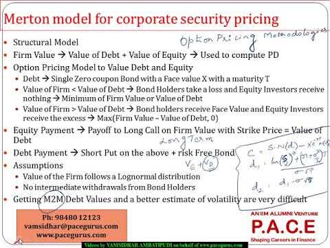Default Risk Quantitative Methodologies