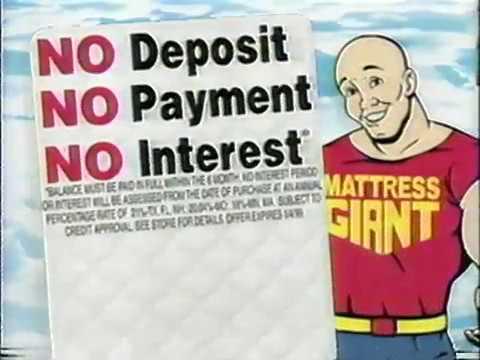 1999 - Mattress Giant